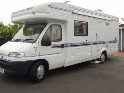 Auto-trail Mohican Low Line 2 berth 2 seat belts