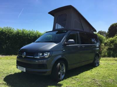 Volkswagen 4 Berth Pop Top Transporter T6 Camper Van For Sale