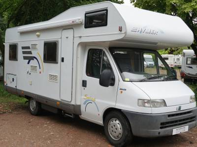 Hymer Swing 644 6 berth Over cab bed, centre dinette motorhome for sale