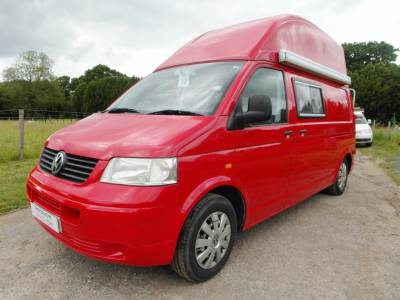 Volkswagen T5 High Top 4 Berth Campervan - Torbay Conversions