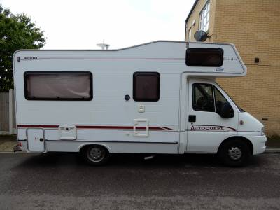 Elddis Autoquest 400RL 2004 4 Berth Rear Lounge Motorhome For Sale