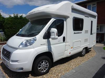 Swift Sundance 530LP Lowline coach built 2 berth 2 seat belt motorhome