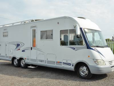 2005 A-Class Frankia i800 twin axle motorhome for sale