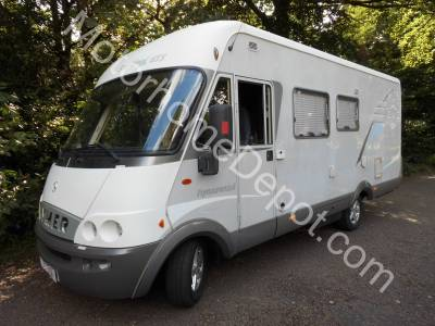 Hymer Starline B655   Automatic, LHD, Rear French bed, 4 berth, Cab air-con