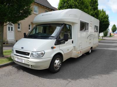 Kentucky Royal 6,  Fixed Rear Bed,  4-berth Motorhome for Sale