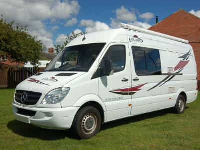 2013 Mercedes Sprinter conversion, high specification and finish