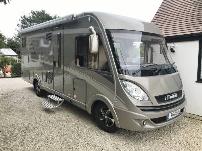 Hymer B678 - Premium Line 4 Berth Luxury Motorhome For Sale