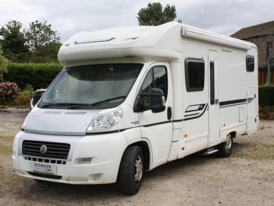 2011 Bessacarr E480 4 Berth Rear Fixed Bed Garage Motorhome For Sale