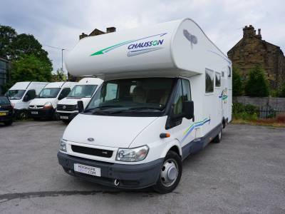 Chausson Welcome 28 6 berth large garage fixed bed Motorhome.