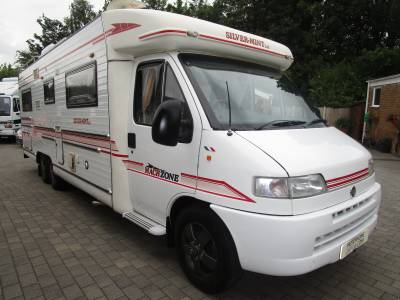 Machzone Silvermint 4 Berth Fixed Bed Motorhome for sale