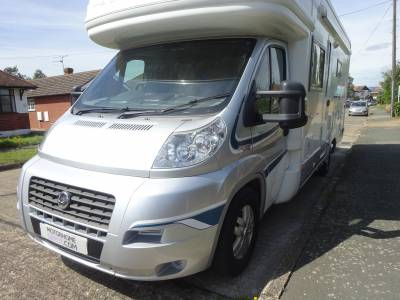 Autotrail Frontier Mohawk 2010 full MOT and history