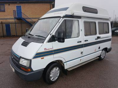 Autosleeper Romero 2 berth End kitchen, centre dinette campervan motorhome for sale