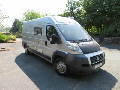 Fiat Ducato 2 berth camper conversion