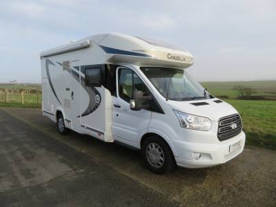 Chausson Flash 616,5 Berth Motorhome, 7500 miles, Solar Panel,Excellent condition.