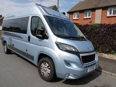 Auto-Sleepers Windrush, 4-Berth, Bunk Beds, 4 Travelling Seats, Motorhome For Sale