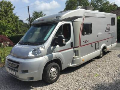 HYMER TRAMP T 674 SL fixed bed lhd