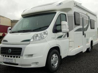 2013 Bessacarr E572 luxury low profile twin fixed bed motorhome