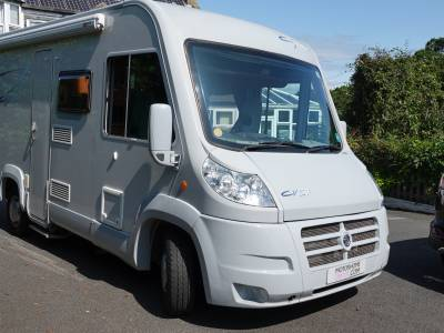 Pilote Cityvan CV57, 4-berth, 4 Travelling Seats, Bunk Beds, Comapct A-Class Motorhome For Sale