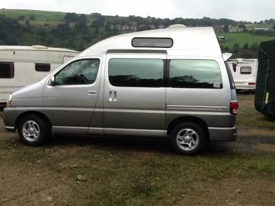 Automatic Toyota Regius Hi-Top JDM Camper - REDUCED BY £1000 FEB 2020