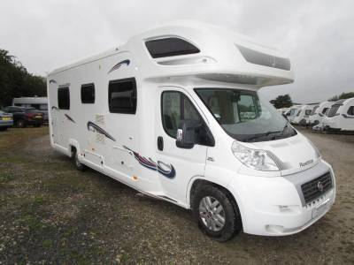 Lunar Roadstar 800 Island Bed 6 berth Motorhome For Sale Automatic