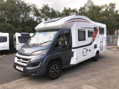 2015 Burstner IXEO Time IT 726G Sovereign 4 Berth Fixed Bed Motorhome  For Sale