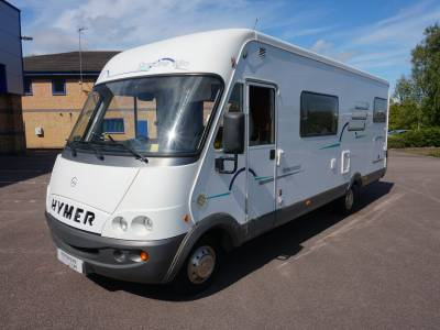 Hymer Starline 680 A Class Automatic Merc, 6 berth Rear Garage Fixed Bed  motorhome for sale