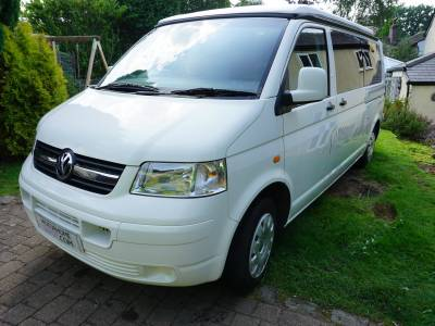 VW Transporter T5 LWB Van conversion