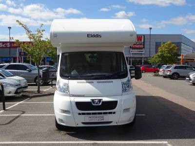 Elddis Autoquest 180 6 berth and 6 seat belts