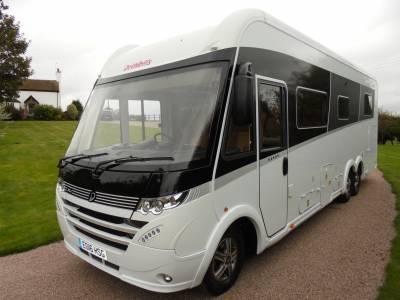 Dethleffs Globetrotter XLI 7850i Premium A Class Garage Motorhome