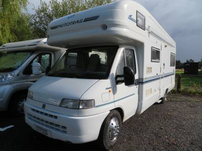 Autotrail Scout, 6 berth, 4 travelling seats