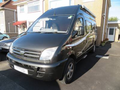 LDV Maxus Motorhome 3 Berth 3 Travelling seats Vango Air Awning