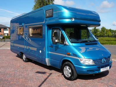 Autotrail Mohican Auto (merc)4 berth Centre dinette, over cab bed motorhome for sale