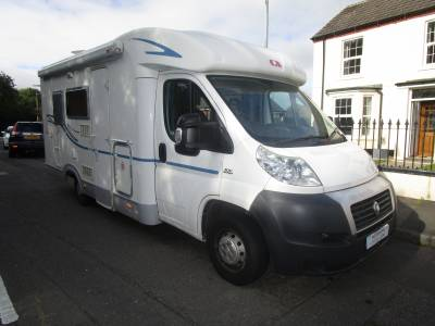 Adria Coral Sport S573 DS Fixed French Bed Motorhome For Sale