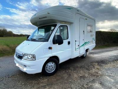 2005 4-berth Avondale Sea Spirit 4 CLS compact motorhome similar to Swift Sundance motorhome for sale