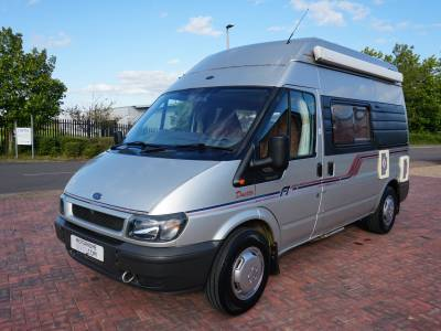 Autosleeper Duetto 2 berth Centre dinette panel van motorhome for sale