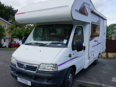 Swift Lifestyle 590RS 5 berth 4 belts rear kitchen motorhome for sale