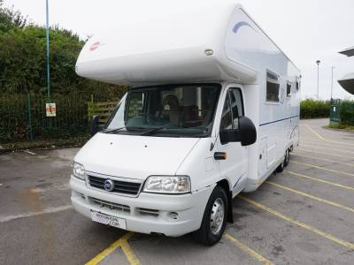 Burstner A748-2 5/6 berth rear garage Twin axle motorhome for sale