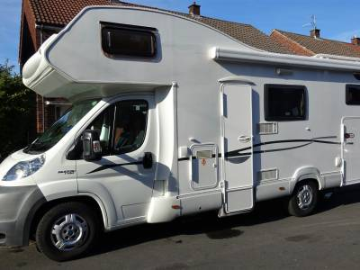 2007 Carioca Ci 6 berth motorhome with large garage motox & Canopy with sides