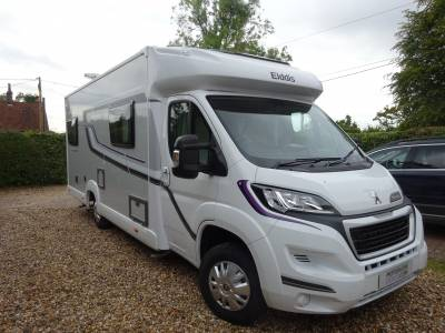 Reduced -  Elddis Autoquest Fontwell Sussex 6 betth 6 seats low mileage