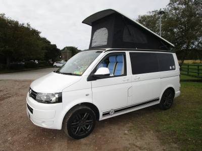Volkswagen VW T5 Pop Top 4 Berth Campervan For Sale.