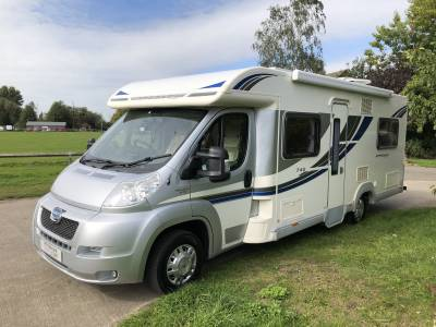 2012 Bailey Approach 740 SE 4 Berth Rear Fixed Bed Motorhome For Sale