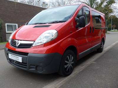 Vauxhall Vivaro Van conversion