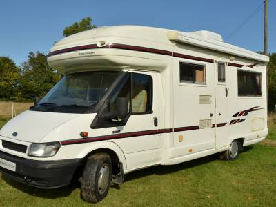 2004 2-berth Auto-Sleeper Rienza motorhome for sale with rear lounge