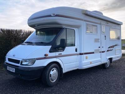REDUCED 2004 2-berth  Auto-Sleeper Rienza motorhome for sale with rear lounge