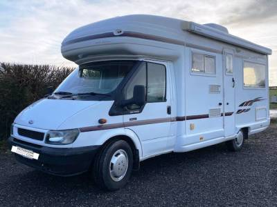 FURTHER REDUCTION 2004 2-berth  Auto-Sleeper Rienza motorhome for sale with rear lounge