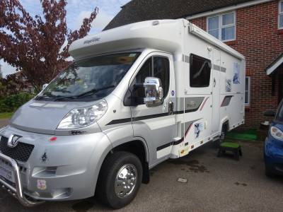 Reduced - Elddis Majestic 2013 155 Peugeot coach 4 berth 2 seat belts Mid Hab checked Motorhome for Sale