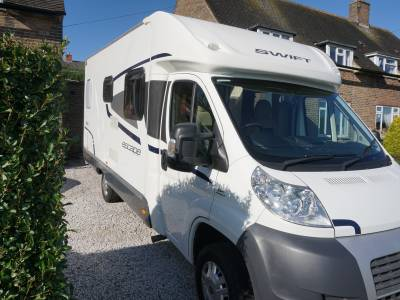 Swift Escape 664 Rear fixed bed 4 berth motorhome for sale