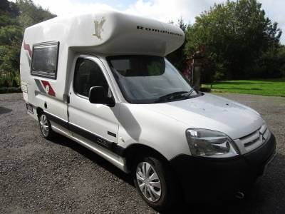 2005 Romahome Outlook Two Berth Campervan for Sale