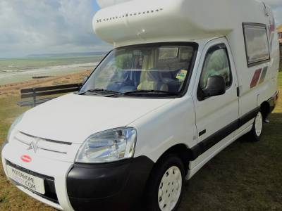 Citroen Romahome Outlook Duo, diesel heating, Gas Lo system, solar