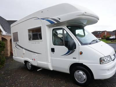 Autosleeper Nuevo 4 berth End Kitchen motorhome for sale